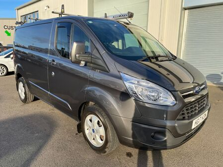 FORD TRANSIT CUSTOM 2.0 TDCI 130BHP 290 LIMITED L1 H1 SWB LOW ROOF NO VAT DEADLOCKS