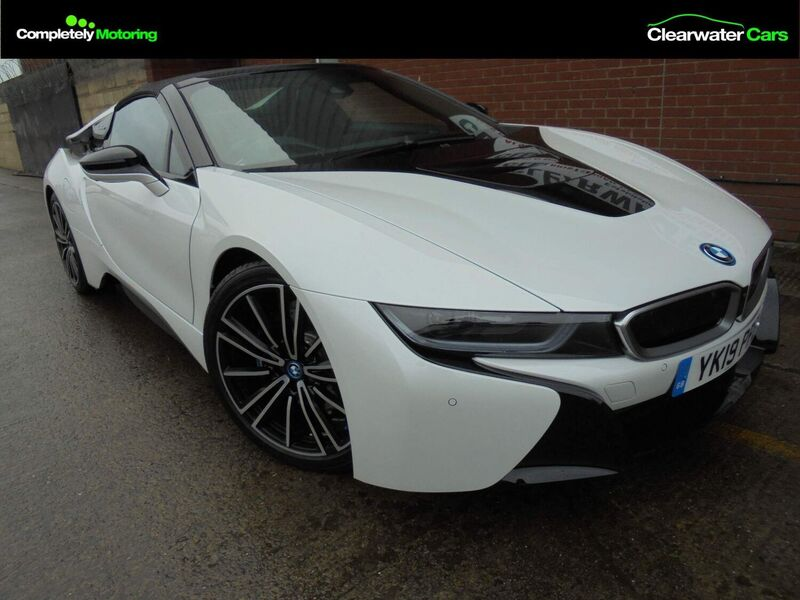 View BMW i8 1.5 11.6kWh ROADSTER AUTO